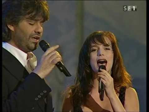 Andrea Bocelli & Judy Weiss   Vivo Per Lei