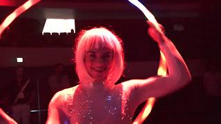 Our LED Circus Performed For Dj Earworm at YouTube Live On Stage! - Vidcon 2019
