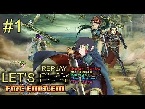 Let's Re-Play Fire Emblem Blazing Sword PT1 - Lowen, Anyone?