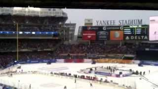 Rangers vs Devils at Yankee Stadium DEVILS SUCK AND LETS GO RANGERS CHANTS!