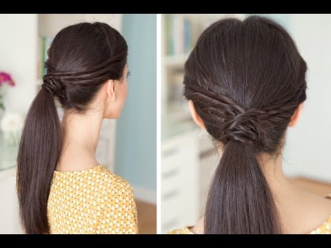 Triple Twisted Pony Tail Travel Video
