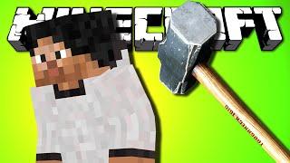 - ВНЕЗАПНО КУВАЛДОЙ ПО БАШКЕ Minecraft Мод