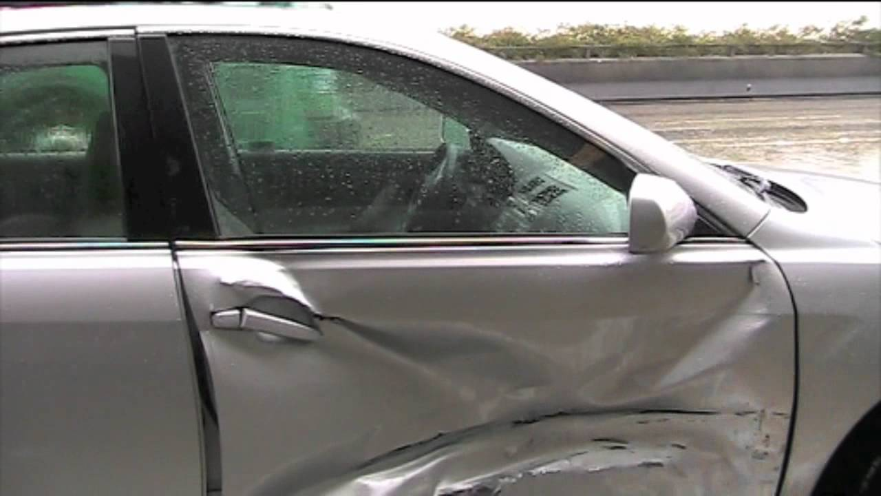 Toyota Camry Accident 91 West In La Youtube