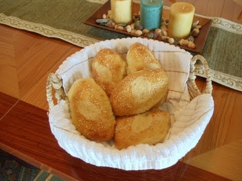 No-Knead Ciabatta Sandwich Rolls (baked on a baking stone) the Ultimate Ham Sandwich