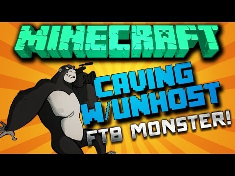 HermitCraft FTB MONSTER {Ep.1} - Caving With Unhost!