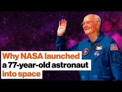 What NASA learned by sending a 77-year-old astronaut into space