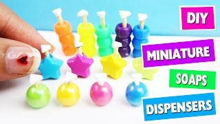 DIY | Miniature Soap Dispensers - simplekidscrafts