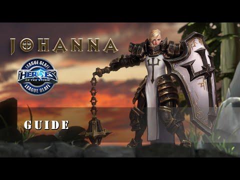 видео: Гайд Джоанна - heroes of the storm - guide johanna