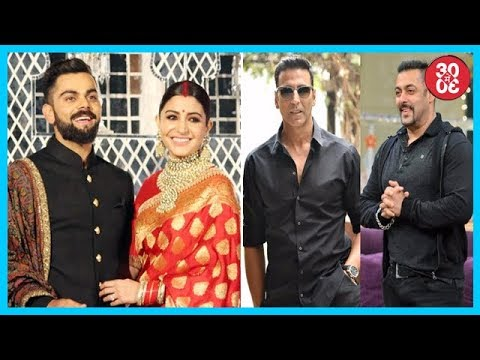 Anushka-Virat's Royal Look At Their Wedding Reception In Delhi | Akshay-Salman's Cold War Continues