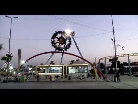 Baghdad's biggest amusement park reopens