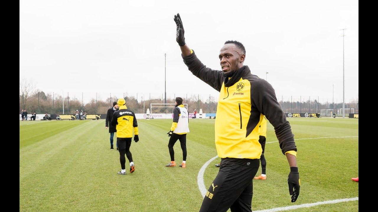 Recap: Usain Bolt beim BVB   #BVBolt