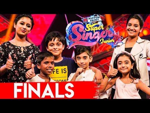 Super Singer Junior 6 Final Winner ? | Ahana, Hrithik & Poovaiyar videos -  IndiaGlitz com