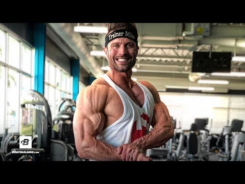 High Volume Delts & Arms Workout + Q&A | Mike Hildebrandt
