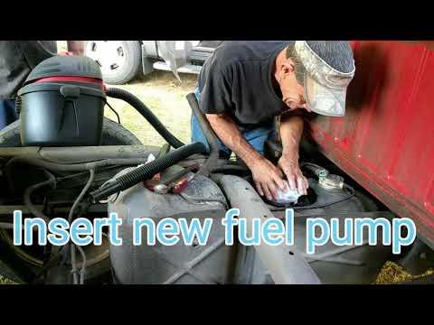 how to change a Dodge Ram fuel pump.