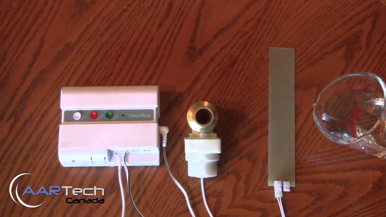 Floodstop Water Sensor And Automatic Shut Off Valve