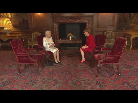 The Queen meets First Minister of Scotland Nicola Sturgeon