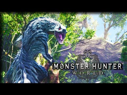 Electric Flying-squirrel Dragon!!– Monster Hunter World Gameplay – Let's Play Part 10