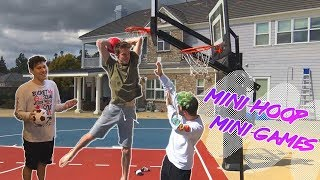 MINI HOOP GAME OF PIG!!! Ft. JESSERTHELAZER AND MOPI