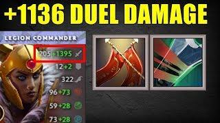 1136 Duel Damage [ Mortal Strike ] | Dota 2 Ability Draft