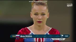 Maria Paseka RUS Qual VT Olympics Rio 2016