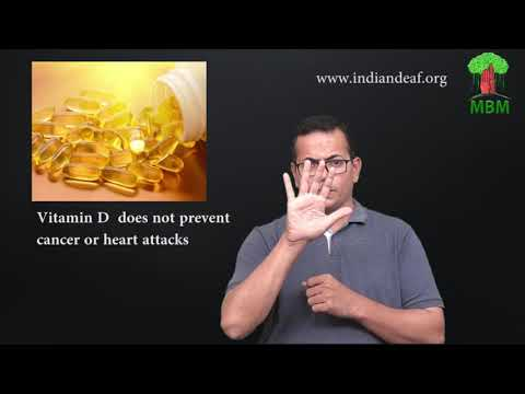 Vitamin D  does not prevent cancer or heart attacks