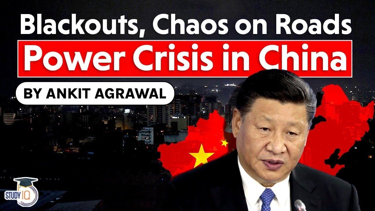 China Power Crisis - Worst power blackouts in a decade to severely affect Global Supply Chain   UPSC - YouTube