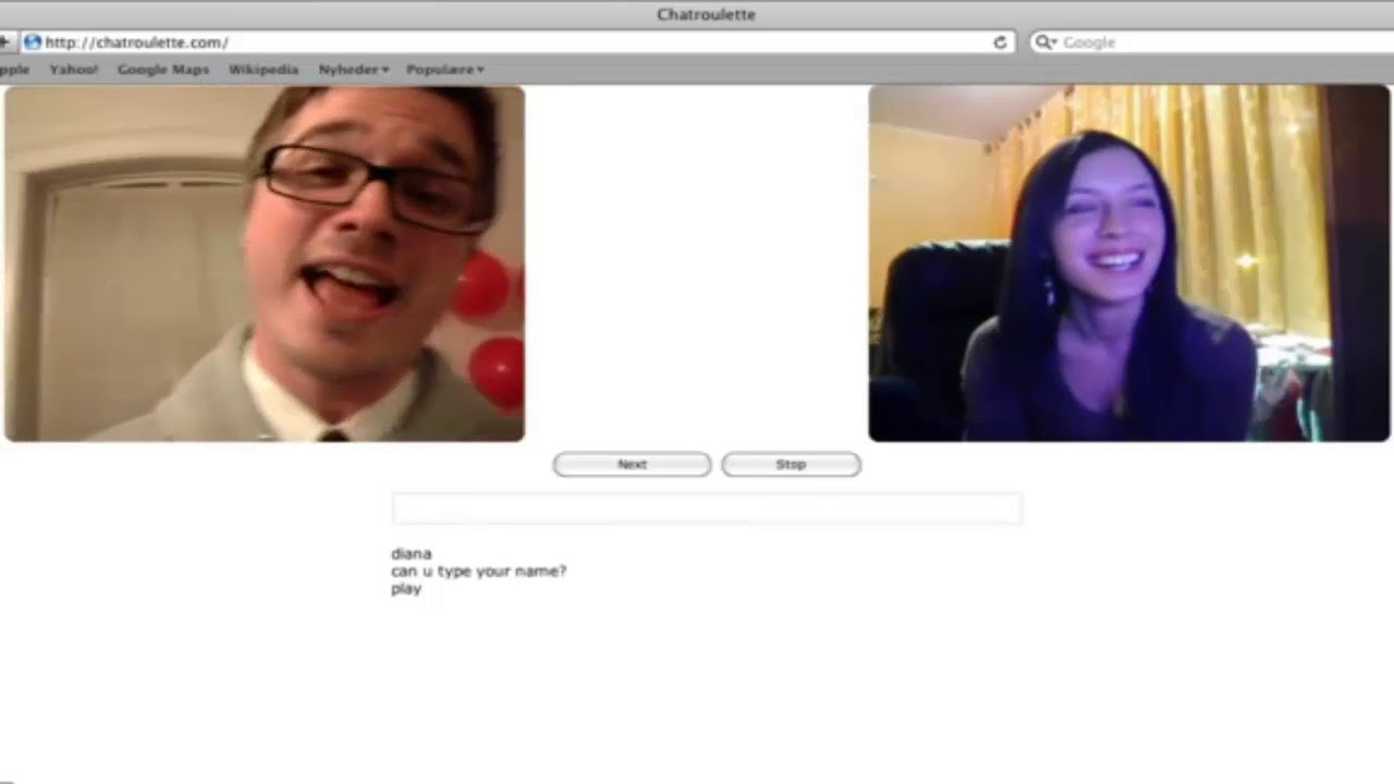 speed dating chatroulette