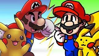 Os MELHORES e PIORES Fan Games de SUPER SMASH BROS !!!