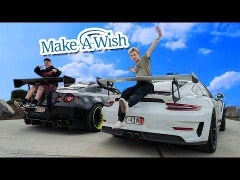 MOST INSPIRING MAKE-A-WISH I'VE EVER DONE! *STAY STRONG DAMIAN*