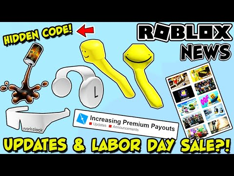 Vip Wipout Obby Firefeind1 Going Off Sale Soon Roblox Roblox News Bloxy Cola Splash Hat Labor Day Sale 2020 Higher Premium Payouts Hidden Code Youtube