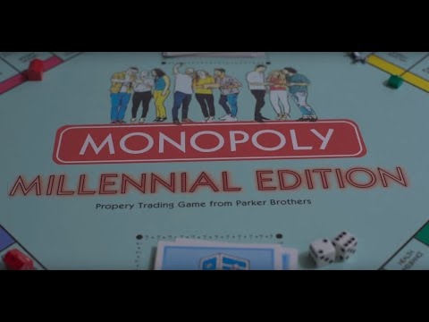 Millennial Monopoly Commercial Parody