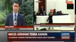 Genel Kurulda Çıkan Kavga Sonrası Meclis Gündemi 06 08 2014 -