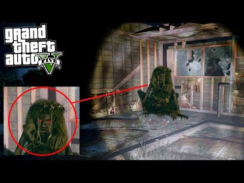 GTA 5 FINDING WOLF GIRL (Scary)