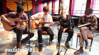 "The Drums - ""Days"" (Live Acoustic on Exclaim! TV)"