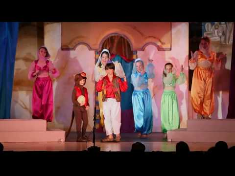 Disney's Aladdin JR (Abu cast)