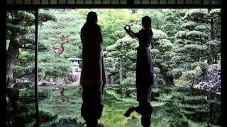 緑が映える「庭鏡」