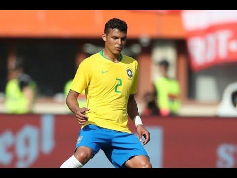 Thiago Silva será capitão da Seleção em partida contra Costa Rica | SBT Brasil (21/06/18)