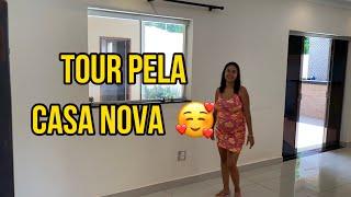 TOUR PELA NOSSA CASA NOVA!!