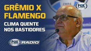 "SOBERBA DO FLA? Presidente do Grêmio dispara contra o rubro-negro ao vivo no ""FOX Sports Rádio"""