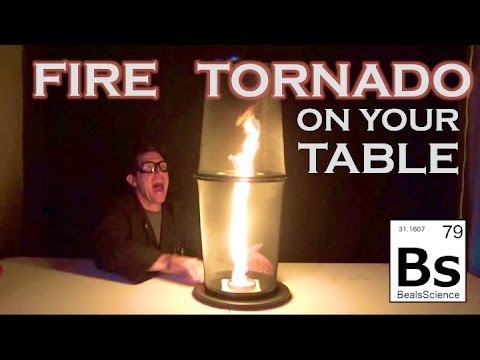 Fire Tornado on Your Table