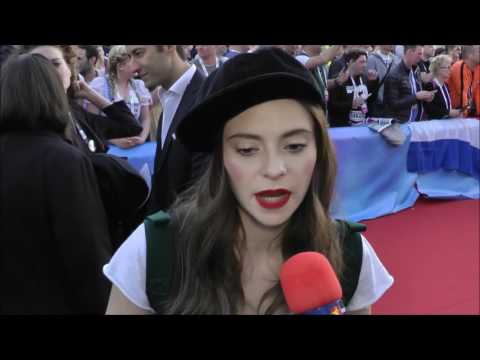Interview with Francesca Michielin (Italy 2016) on the red carpet @ Eurovision in Stockholm