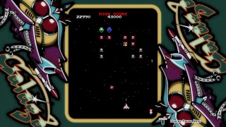 Galaga - PS4 PlayTime #galaga #spaceinvaders #namco #highscore