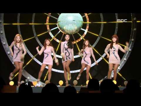 Wonder Girls - Be My Baby 원더걸스 - 비 마이 베이비 Music Core 20111119