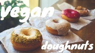 VEGAN doughnuts  //  Revolution Doughnuts  //  Atlanta, GA