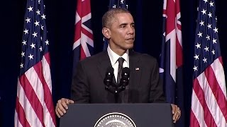 President Obama Addresses the University of Queensland