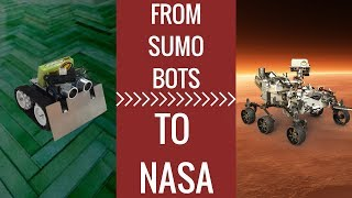 From building SumoBots to coding robots for Mars at NASA - Interview with Katie