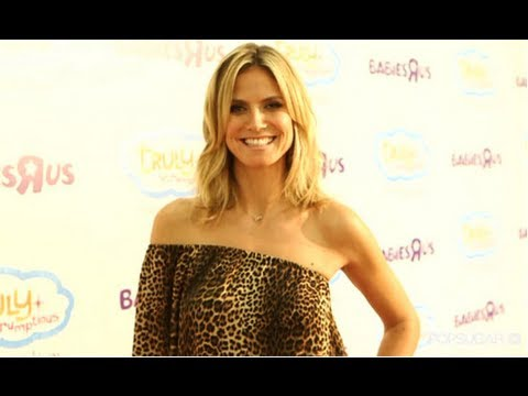 Heidi Klum Talks Family, Fitness, And More At Truly Scrumptious Launch At Babies