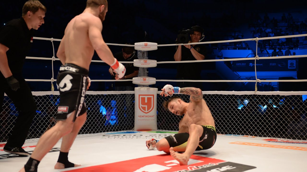 ЖЕСТКИЙ НОКАУТ на 17-й секунде остановил немецкого чемпиона! Макс Дивнич vs Макс Кога!