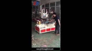 Radian Plastic Drawer Front Heat Transfer Machine, Flat PP Panel Transfer Machinery