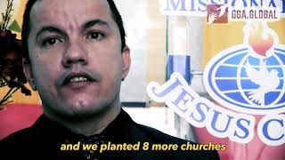 He planted 9 churches after the Gospel campaign in his city